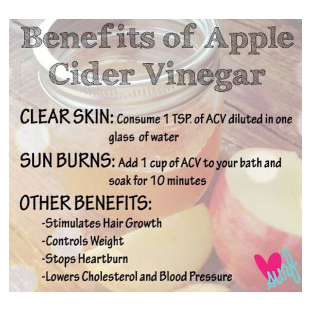 We LUV healthy tricks! #acv #healthyliving #clearskin  #homeremedies