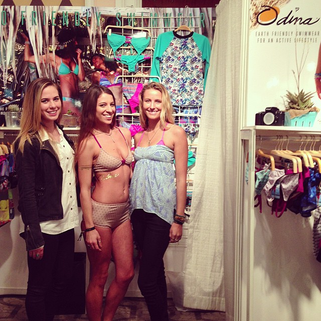 #SwimCollective at the #StRegis in #Laguna! Come down booth #905! @mariiinchi @helina___