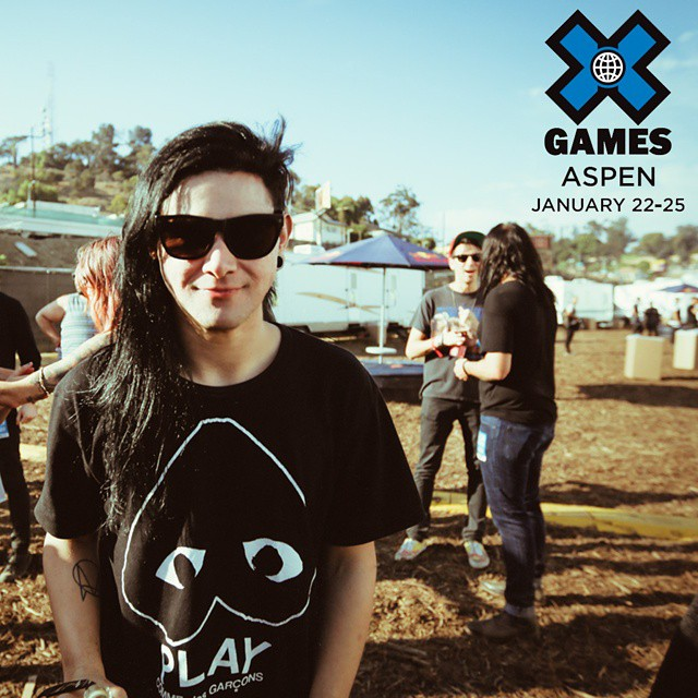 Six-time Grammy Award winner @skrillex turned 27 years old today.  He will perform at #XGames Aspen on Sat., Jan. 24!