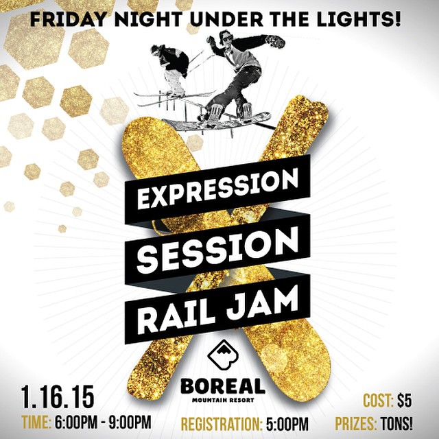Tomorrow night! Get up to @borealmtn @woodwardtahoe for the next Expression Session event. You could win all kinds of cool stuff including Flux Bindings!
