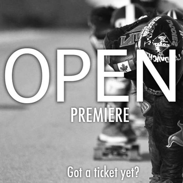 Tomorrow! Israel OPEN premiere hosted by @dasilvaboards! Go to their Facebook fan page to get tickets for the screening of our new movie by @danieletura featuring some of the best female riders of the world. PARTY!  #longboardgirlscrew #lgcopen...