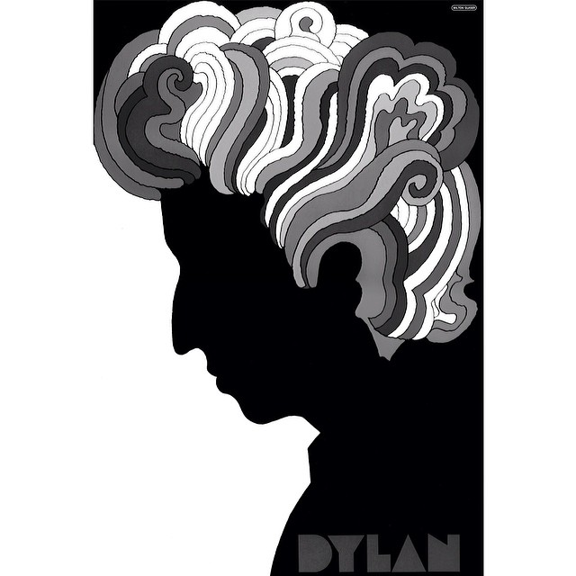 "Looking back at his iconic Bob Dylan poster design from 1967, @miltonglaserinc said about the hair ""it's not very well done... That's all I was capable of doing at the time so you go on."" Be sure to read the full interview from #issue33 #steezmagazine..."