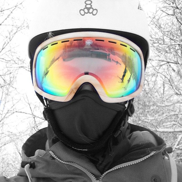 WARNING: Do not use Bosky goggles if you are prone to adventure, excitement or shredding the gnar. #shredthegnar #bosky #skilife