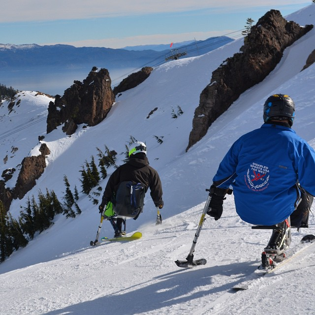 Great ski day w/ #highfivesathlete & #disabledsportsfarwest at @squawalpine #WolverineBowl