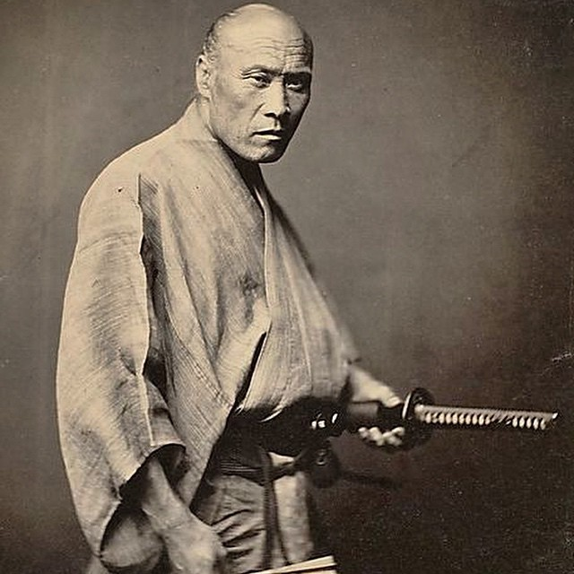 1866 PC Felice Beato. Two years after this photo was taken the Samurai were abolished #lovematuse