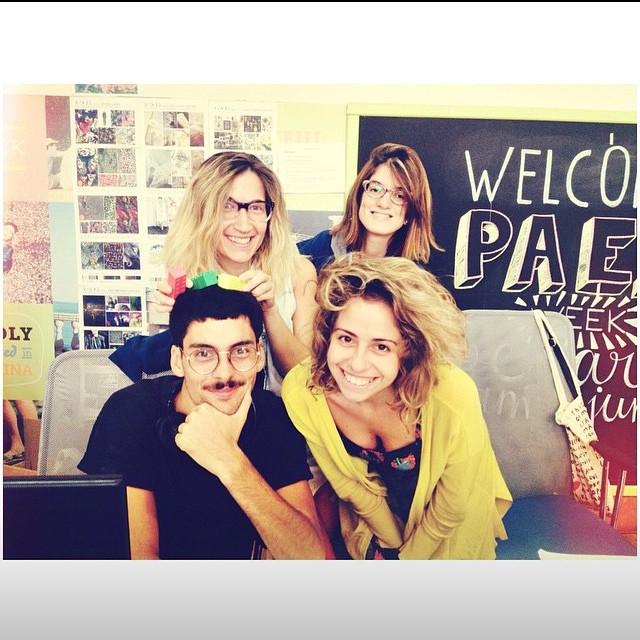 Ese equipo saca chispas! #Paez design Team #Backstagepaez #Paezshoes #BuenosAires