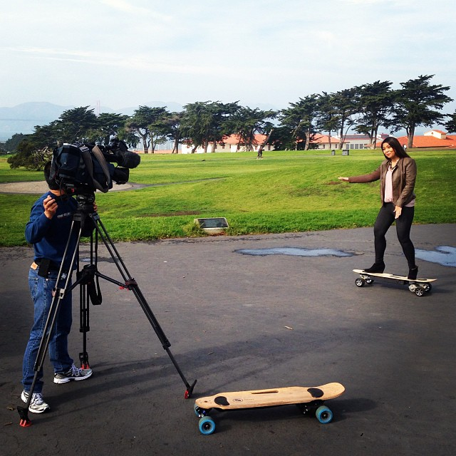 If you're in the Bay Area check out ZBoard Founder Ben Forman on the KPIX5 Evening News on Sunday night after the game!