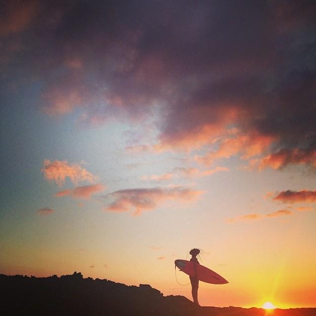 Soak in the sunset. #sarahleephoto #sunset