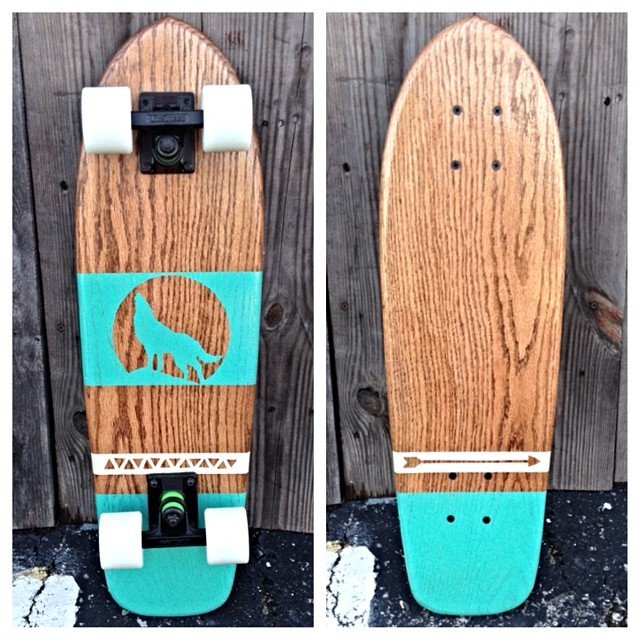 More new boards dropping today like this wolf cruiser!