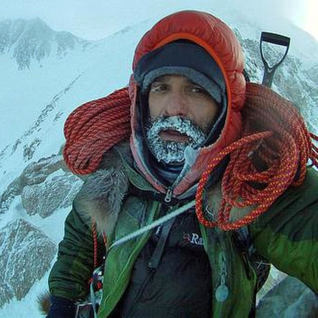 A big congrats to ASC adventurer @LonnieDupre, who just became the first person to summit #MtDenali solo in January! Here he is on the West Buttress Ridge during his descent.