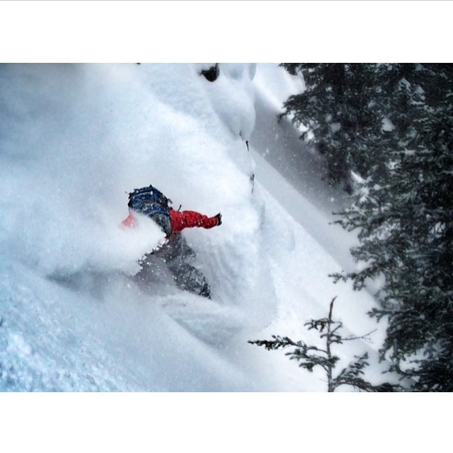 @robkingwill gets back to pow town in @jacksonhole.