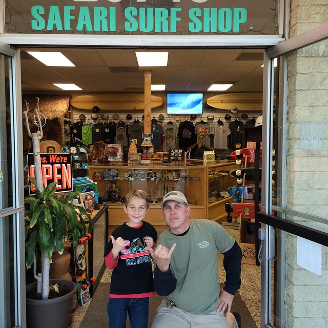 Final Stop with Randy Beck from Safari Surf n Sport. Benjamin always stoked to see Randy. #bbrsurf #bbr #safarisurfnsport #randybeck #surfshop #chatsworth
