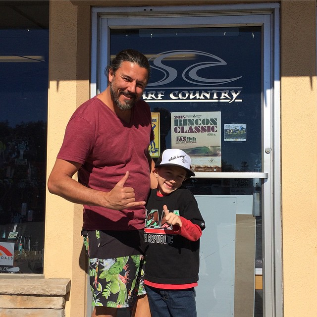 Road trip visiting surf shops that carry BBR. First stop, Surf Country in Goleta just passed Santa Barbara. Doug Yartz, owner and Benjamin Shaka up!  @bbrsurf #surfcountry #surfshop #dougyartz #roadtrip #goleta