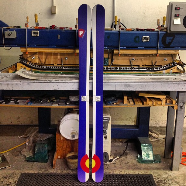 #madeintheUSA #coloRADo #customskis