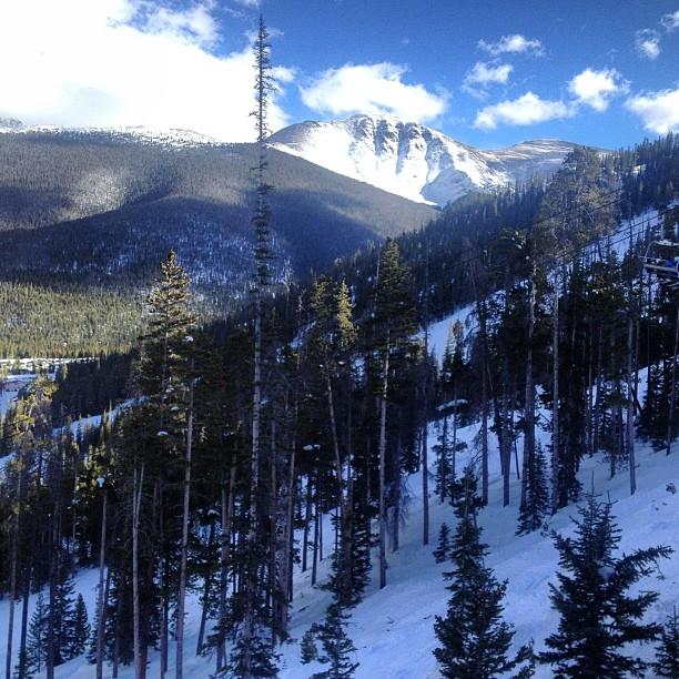 Plenty of #treedodging @winterparkresort today! #maryjane