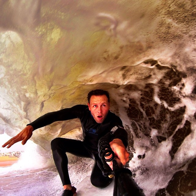 @Smitherspix has mastered the art of the barrel selfie. #GoPro