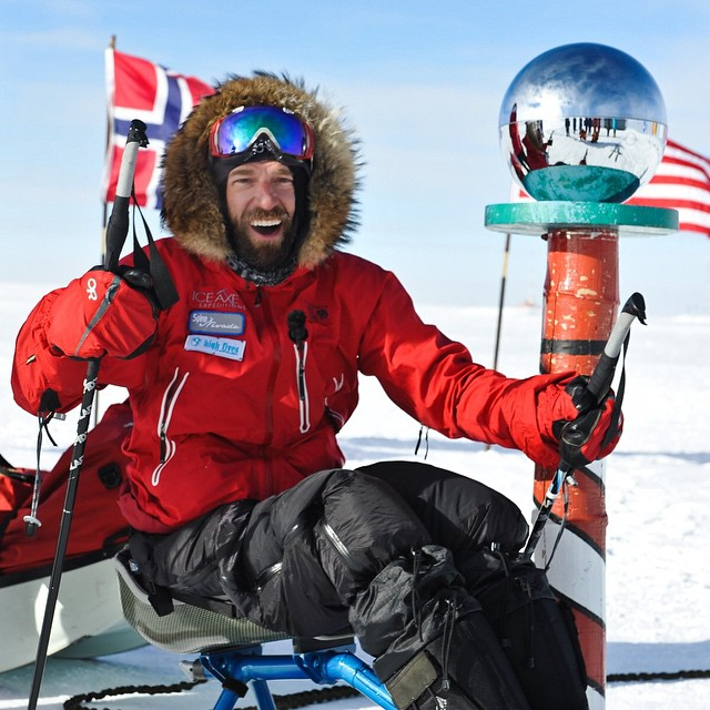 Jan 17th is the anniversary of the @SouthPolePush Expedition!!! Also, today is my Dad's 70th Bday - it was a very special moment having the opportunity to call him on the sat phone f/ the bottom of the world to wish him Happy Birthday!!! *Photo:...