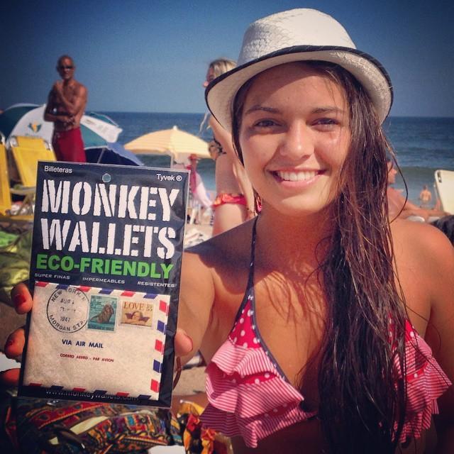 #monkeywallets #puntadeleste #Tyvek #wallets @monkeywallets #fashion #moda #playa