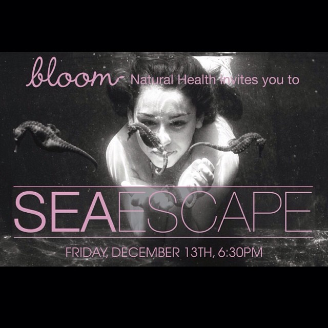 Excited to announce SeaEscape, a charity event for Hawaii Seahorse Foundation, that my underwater art photography will be a part of. Please come down to Bloom Natural Health in Encinitas this Friday at 6:30pm. This will be a catered event with food and...