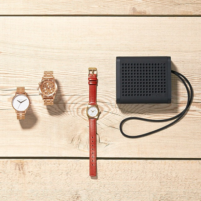 Inspiration.  Introducing the women's spring collection, now available from Nixon.  Featuring The Kensington, 38-20 Chrono, Small Time Teller Leather and Mini Blaster durable, portable speaker. #nixon