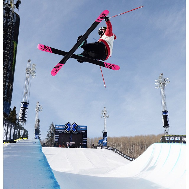 Two-time #XGames Ski SuperPipe medalist @britasig turned 25 years old today.