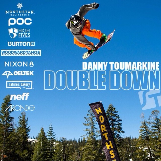 "#regram from #highfivesathlete @dct3 | Danny Toumarkine | Link to ""Double Down"" Video in @dct3 profile"