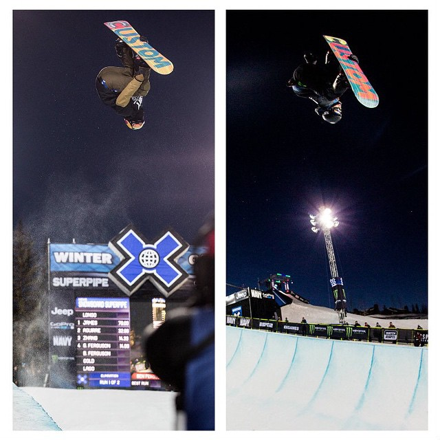 Brothers Ben and Gabe Ferguson will compete at #XGames.  Men's Snowboard SuperPipe action begins next Thursday, Jan. 22!