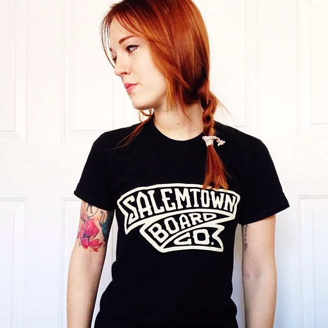 Check out our friend @hullosam rocking her STBCo. Banner T!