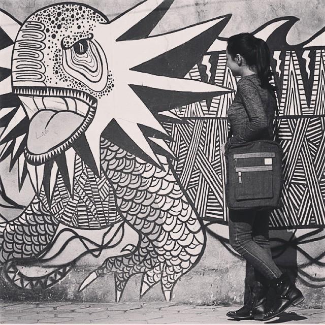 Creative minds keep the world curious #estwst #connectglobally #streetart #hemp #denim #ecostyle #streetwear #laptopcase #laptopbag #convertiblecase #sustainable #ethical #art