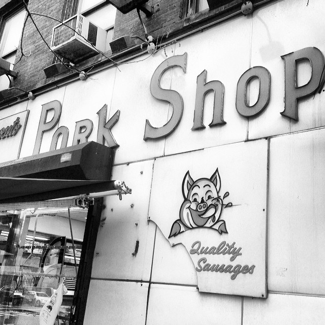 Only in New York can you find a Pork Shop. #porkshop #nyc