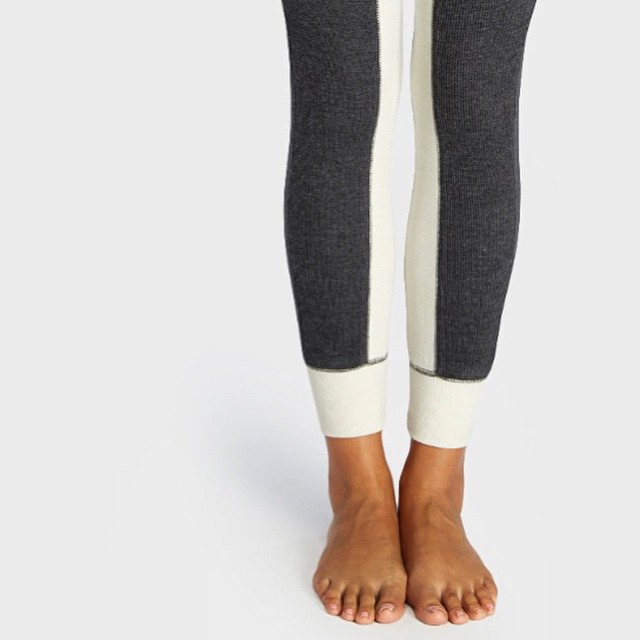 We care enough to make thermal leggings.