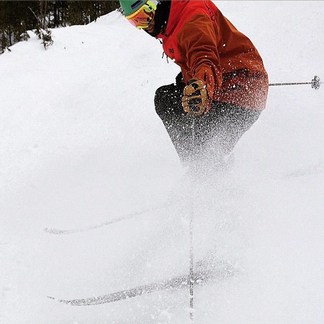 Alf's High Rustler was buffed, chalky, and shreadable today at @altaskiarea. #lapit #trew #technylish #trewgear