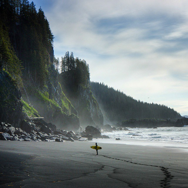 Finding distant shores. #GetOutStayOut  Photo: @chrisburkard
