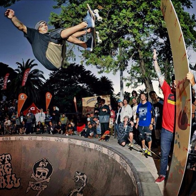 Big Air x @sandromoral #offthevans #Volcom #Skate #SandroMoral #TrueToThis