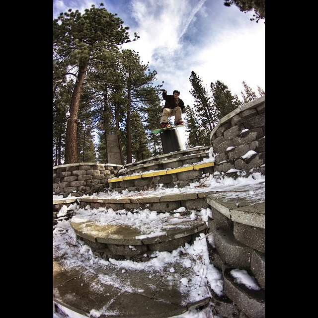 @anthony_mazzotti knows how to take advantage of the #propacamba with this nose tap to firecracker up in Big Bear. #destroyeverything #gethammed