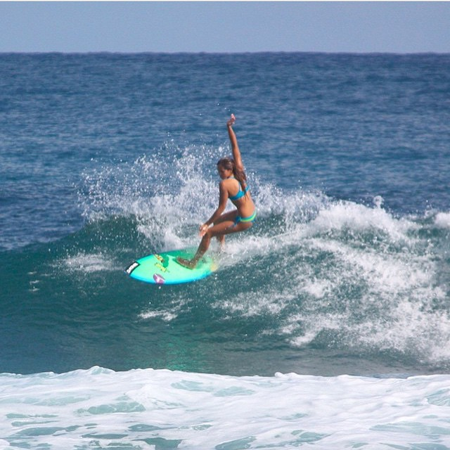 Coordinating outfits...brand ambassador @izzyisup ripping in the Dominican Republic #miola #miolainaction #miolainthewild #muse #getoutthere #instagood #photooftheday #bikini #staysalty #dominicanrepublic #surfsup