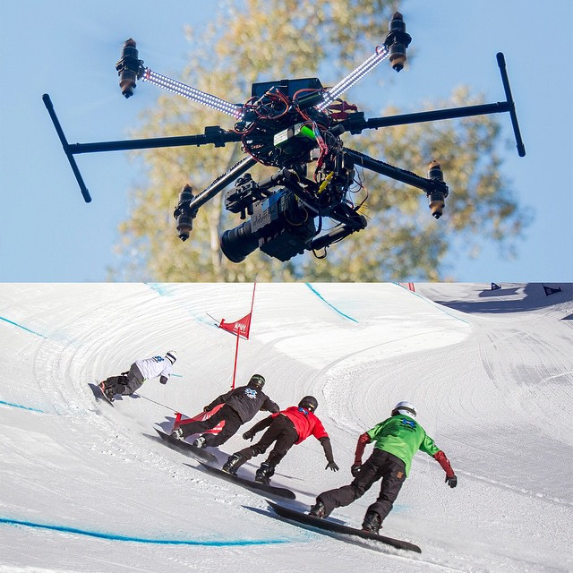 #XGames Aspen 2015 will become the first live U.S. telecast to feature drone cameras.  Click the link on our profile page to read more.