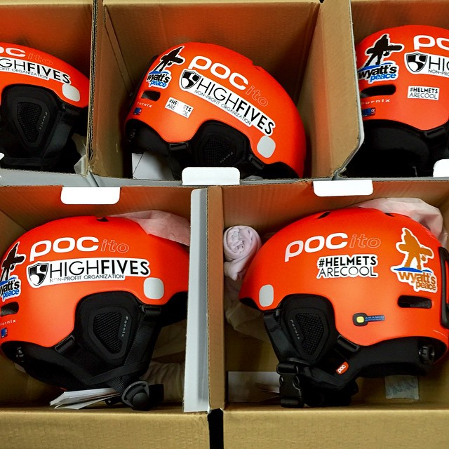Safe kids are the coolest kids! These 5 helmets are going to the #bigbrothersbigsisters #helmetsarecool through #WyattsPeace