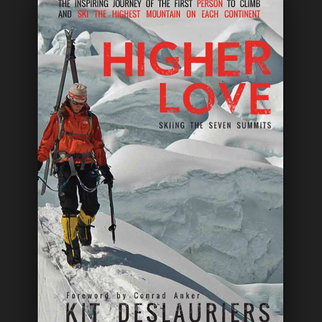 "Check out an awesome @1percentftp ambassador's new book about her quest to climb and ski the ""Seven Summits."" Higher Love by @kitdski #getoutside Link to purchase in bio."