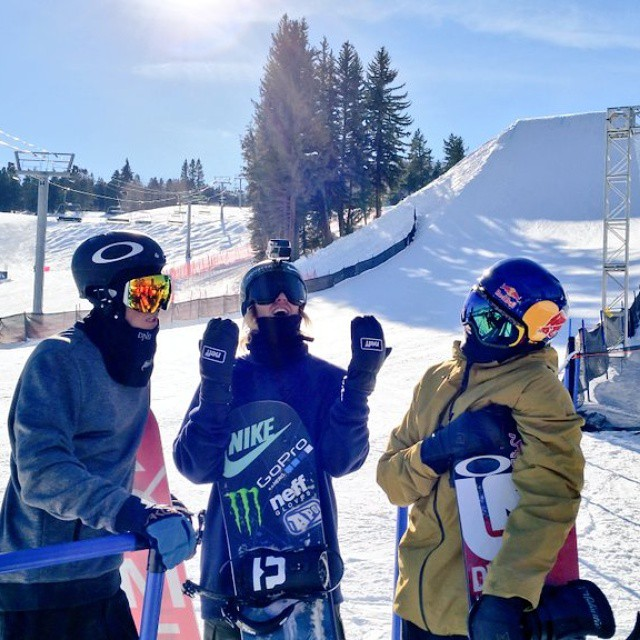 Hol' up, hol' up, hol' up ... We dem boyz. #XGames