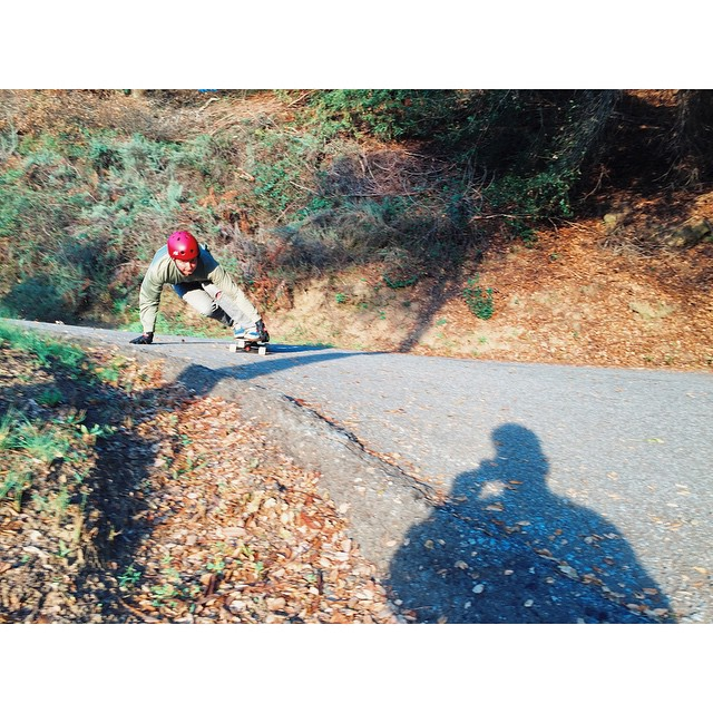 Caliber Team member and employee @yeehawpete hit that's inside line in Santa Cruz CA. photo @malachigreene_