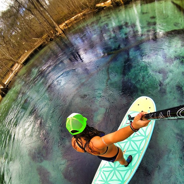 Emerald Springs... #GoPro #neverstopexploring #welivewater