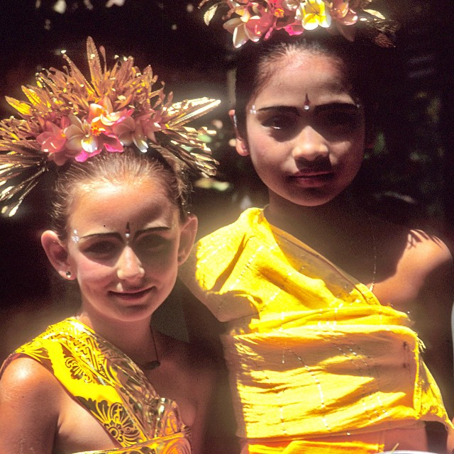 "Growing up in Bali I was the only ""haole"" in the village dance troupe...thankfully they accepted me and all my freckles;-) I miss dancing Legong! Anyone else know Legong? We should have a dance day!"