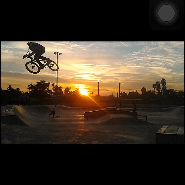 Sal x Soaring | @salsaavedra #sunset #bmx #bulthelmets Ride the Lightning ⚡️