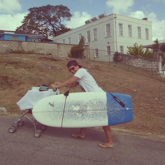 #AkelaSurf  owner and designer Annie Gagne Surfer Mom  #fashion  #SurfSwimwear  #beautiful  #Surf