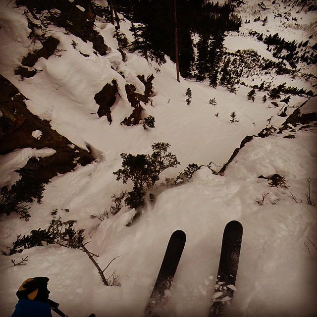 Ambassador @joelbettner exploring some of his #secretstash in the Colorado backcountry.