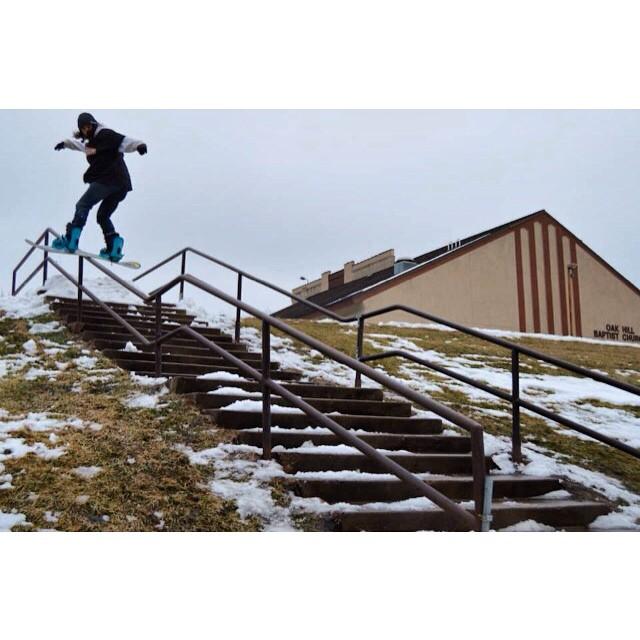 Team rider from #Minnesota, Sam Silverness. @undrstndrd #FrostyHeadwear #FrostyVision #Snowboarding #EmbraceYourOpportunity