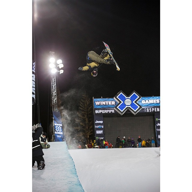 2014 #XGames Snowboard SuperPipe fifth-place finisher @ben_ferguson turned 20 years old today.
