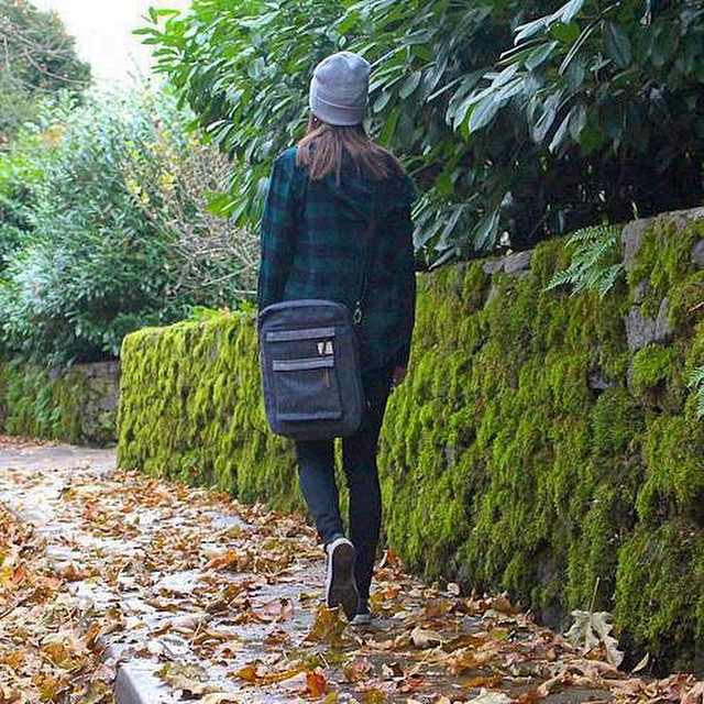 Walk your own path #estwst #hemp #sustainable #ecostyle #hemp #denim #natural #recycled #laptopsleeve #laptopbag #laptopcase #convertiblecase