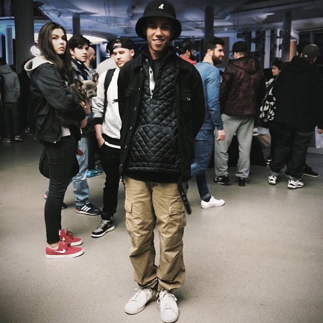 #kangol sighting by @highsnobiety at the Bright trade show in Berlin